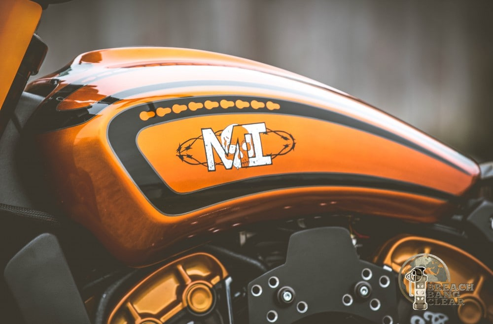 Lovely fender on the Indian Scout