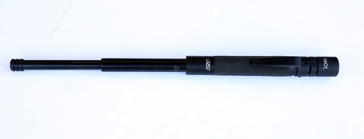ASP USA Fusion T light on Talon expandable baton - a review by Patrick Vuong of Tiga Tactics.