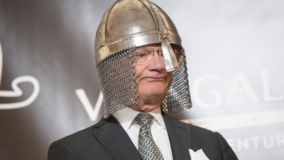 King Carl Gustaf (not the recoilless rifle)
