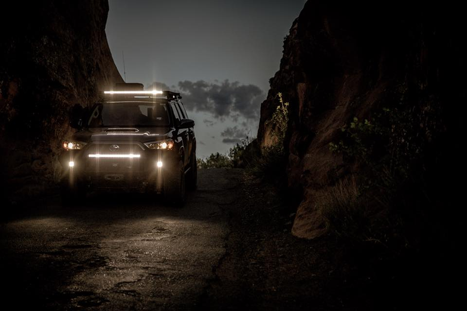 Lightforce USA Striker LED vehicle lights - photo by Thomas Carlson of Basecamp Creative Group