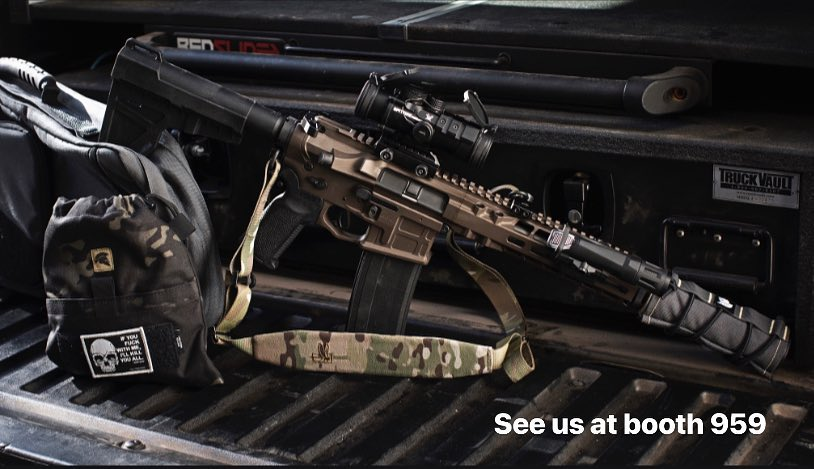 Radian Competition Raptor and Talon AR15 Accessories at SHOT Show 2019.