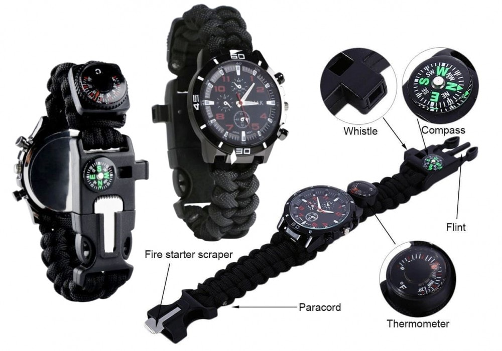 Renegade Gear Brand survival watch