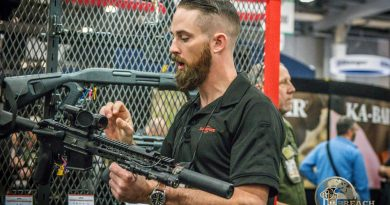 Andrew Wright from SureFire at SHOT Show 2019