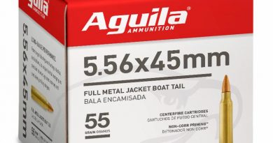 Image of Aguila Ammunition 5.56 rifle ammo