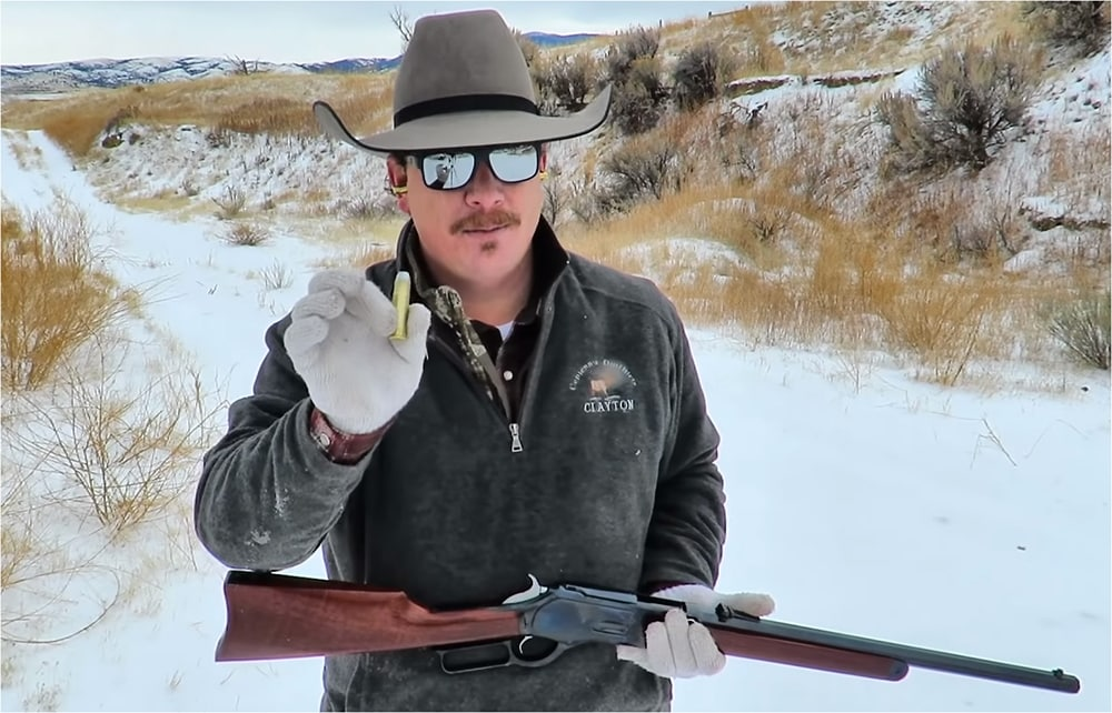 Cimarron - Winchester 1876 Short Rifle 50-95 Presidio custom order - reviewed by The Action Cowboy