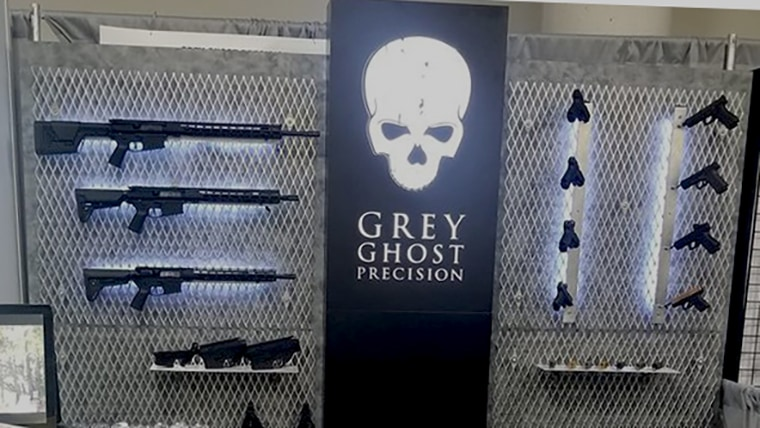 GGP Glock Slides V3 and V4 at the Grey Ghost Precision Booth - SHOT Show 2019