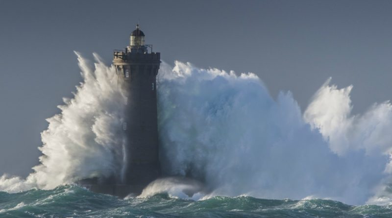 Lighthouse in a storm - nice representation of the VA Lighthouse Program