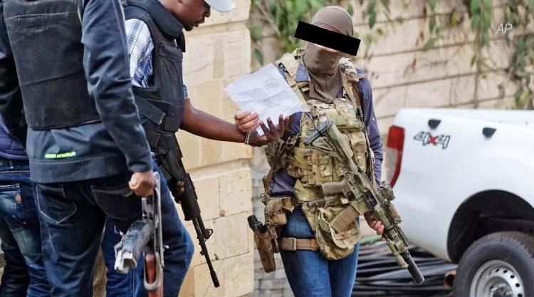 SAS soldier in Nairobi Kenya responding to Al-Shabaab attack