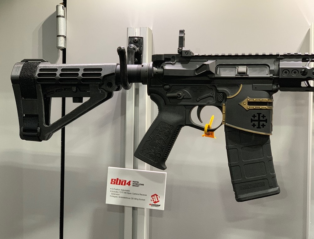 SB Brace for AR Pistols from SB Tactical.