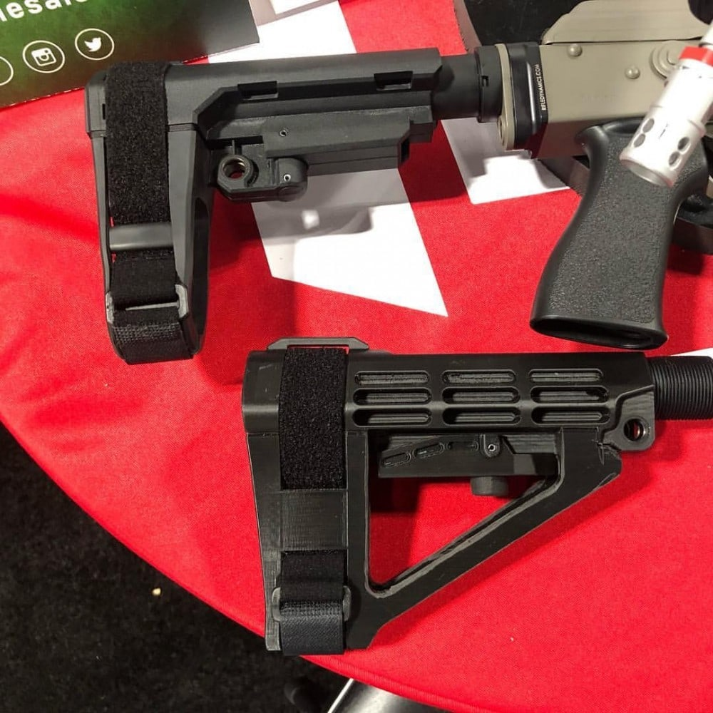 SB Brace for AR Pistols from SB Tactical - photo courtesy UN12 Magazine