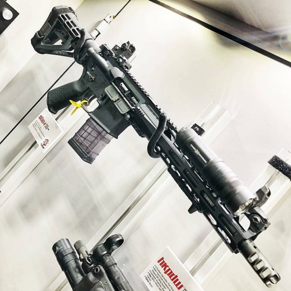 SB Brace for AR Pistols from SB Tactical - photo courtesy Cloud Defensive.