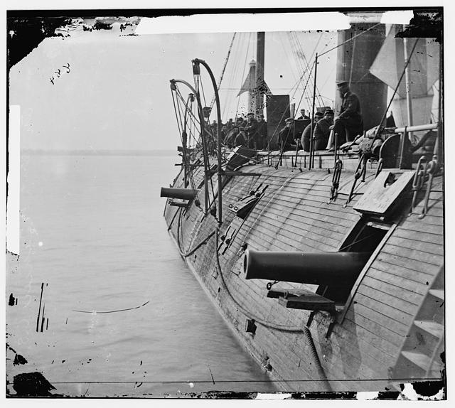 An ironclad after a battle at sear during the Civil War: Alternative history - Phases of Mars -Those in Peril