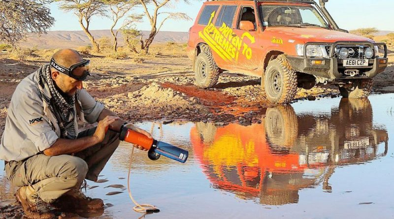 Icon LifeSaver filter water bottles - LifeSaver seen here with @driventoextremes.