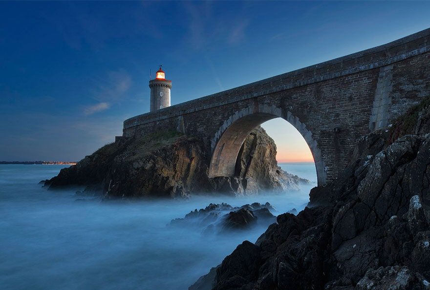 Phare du Petit Minou lighthouse by Alexander Riek