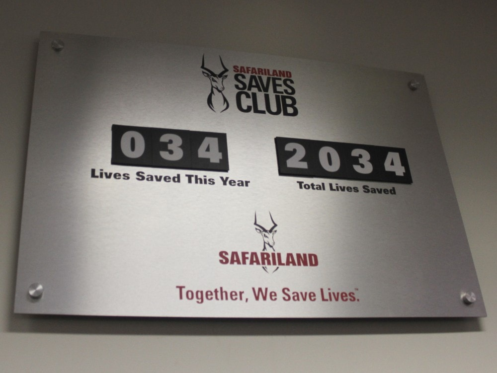The Safariland Saves Club