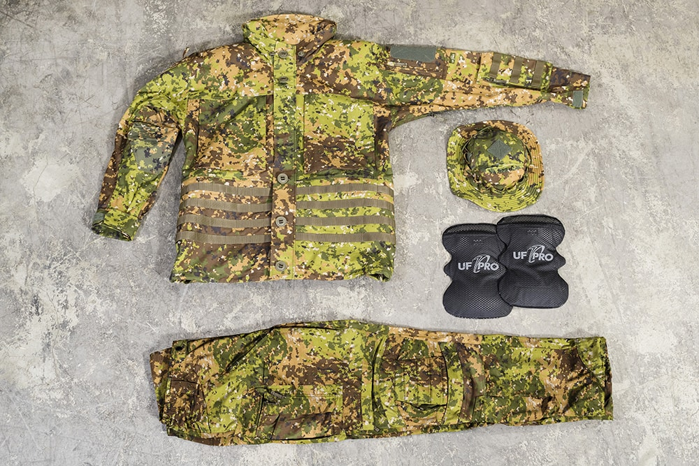 UF Pro next-gen BDU combat shirts and combat pants and camouflage patterns will be on display at IW