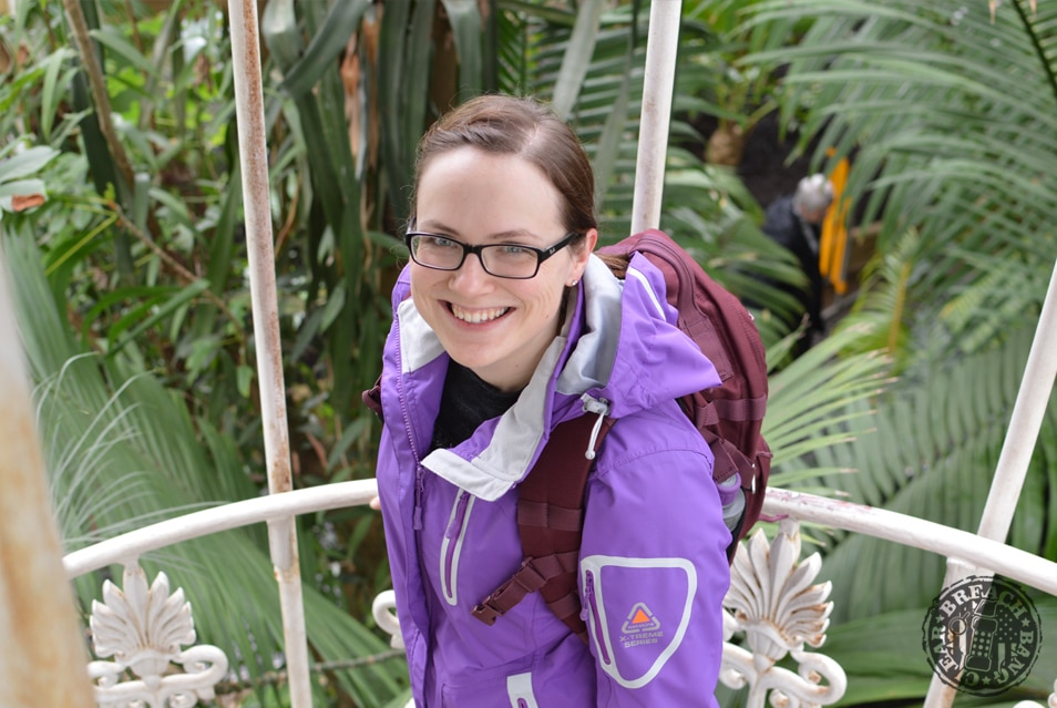 5.11 Backpack - Mira 2-in-1 pack in the Royal Botanic Gardens, Kew.