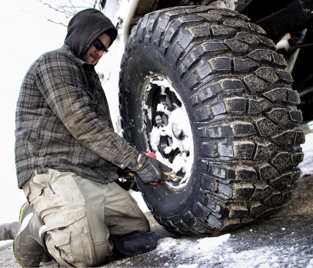 Cold weather work gloves from Mechanix