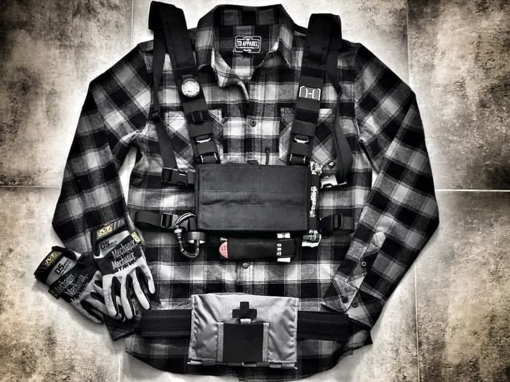 Tactical flannel - the Tombstone, from TDI.