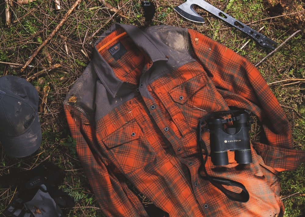 Flannel shirts - 5.11 Tactical Sidewinder flannel