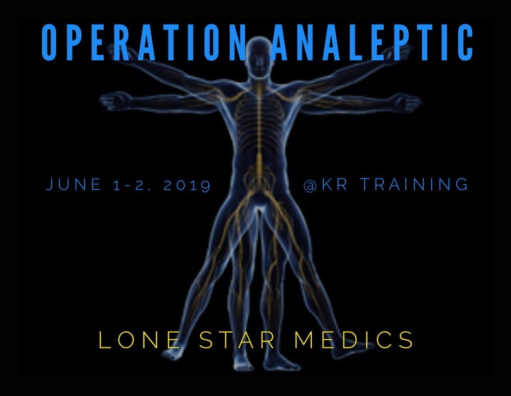 Lone Star Medics launches Operation Analeptic