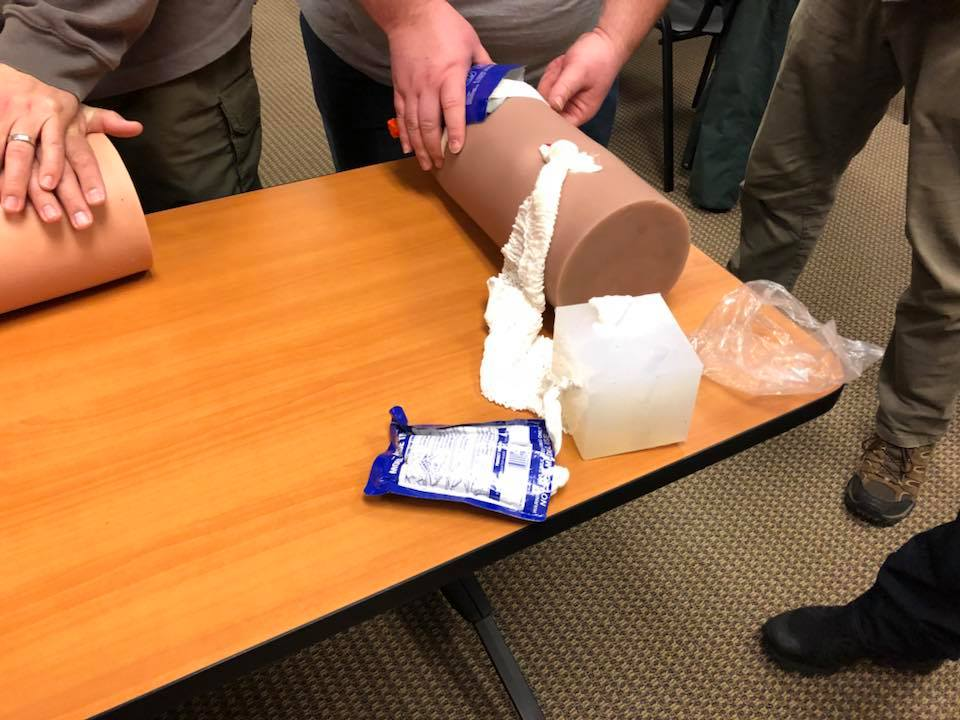 Trauma first aid training taught by Lone Star Medics is both realistic and contextual.