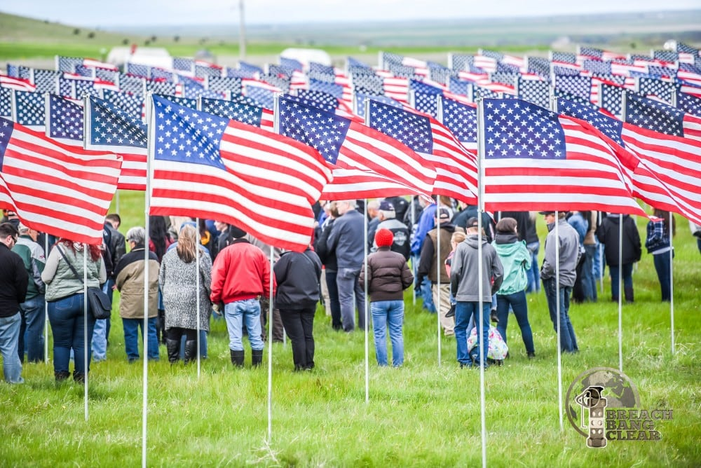 Buffalo Chip Field of Flags (Memorial Day Pictures)