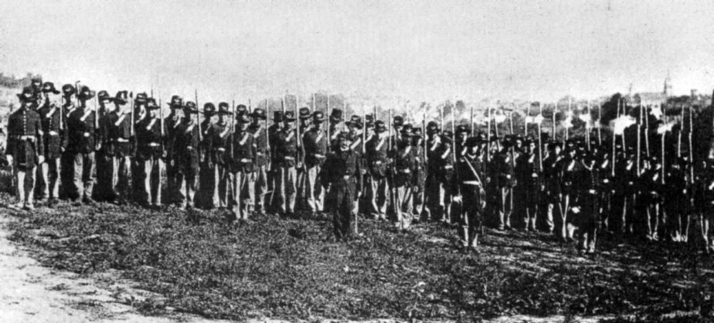 The Iron Brigade at the Battle of Gettysburg