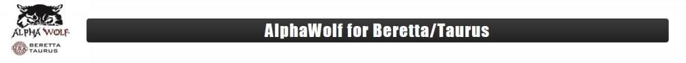 Threaded Beretta barrels at Lone Wolf Distributors