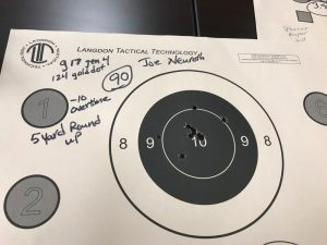 Joe's 5 yard round up at the CDR training course, Technical Handgun: Tests and Standards