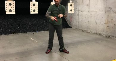 John Johnston, instructor for the Technical Handgun: Tests and Standards Course
