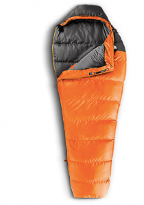 North Face Mummy Sleeping Bag for overlanding, hiking, or backpacking.