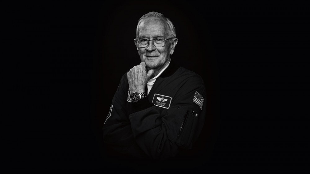Charlie Duke and the Omega Speedmaster Moonwatch