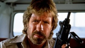 Chuck Norris Manning Done Right - no two-toned blitzy guns