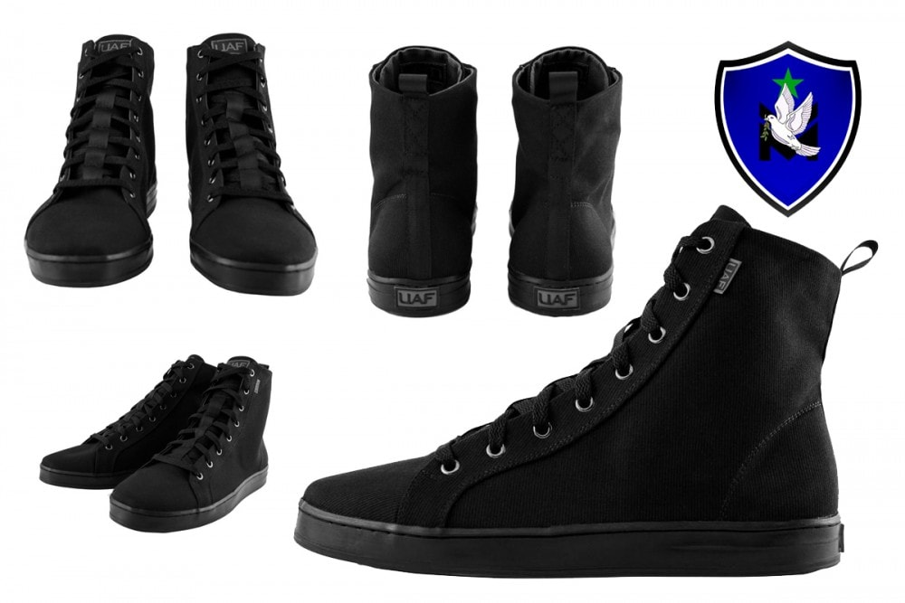 House Stoke (you may know them as Combat Flip Flops) released a new style of high top sneakers