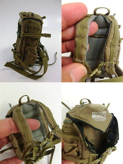 1/6 scale action figure rucksack: Mystery Ranch