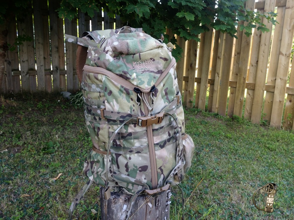 Mystery Ranch 3 Day Pack with Futura Harness
