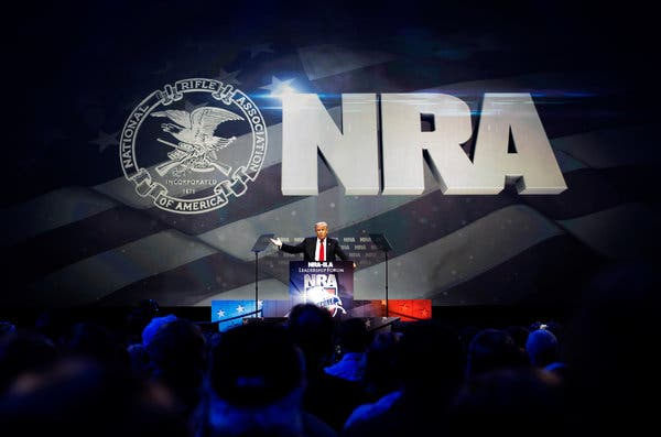 NRA political contributions - the lobby isn't what you think
