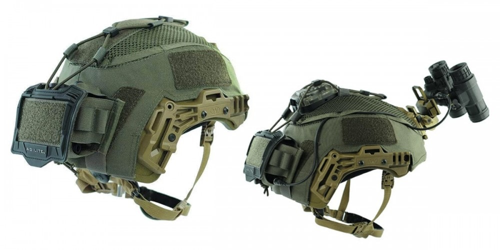 Team Wendy ballistic helmet cover from Agilite Gear.