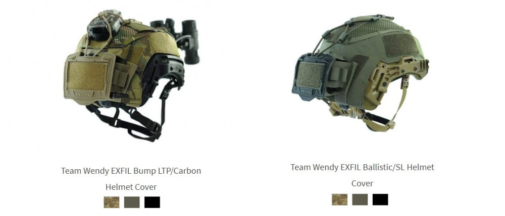 Team Wendy helmet covers from Agilite