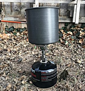 Backpacking Stove - GSI Outdoors Pinnacle Soloist Complete Set