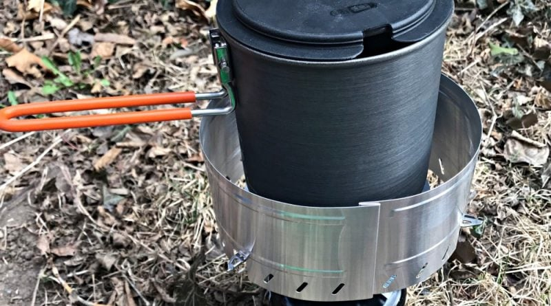 Backpacking Stove - GSI Outdoors Pinacle Soloist Complete Set