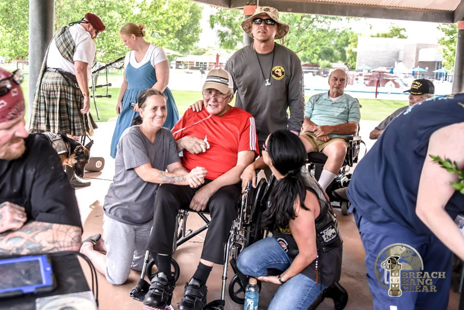 Long-in-the-tooth Veterans Charity Ride