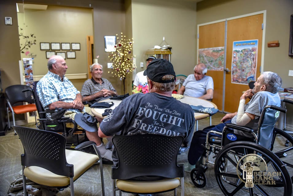 Visiting our Veterans in the Nursing Home