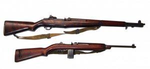 M1 Garand and M1 Carbine