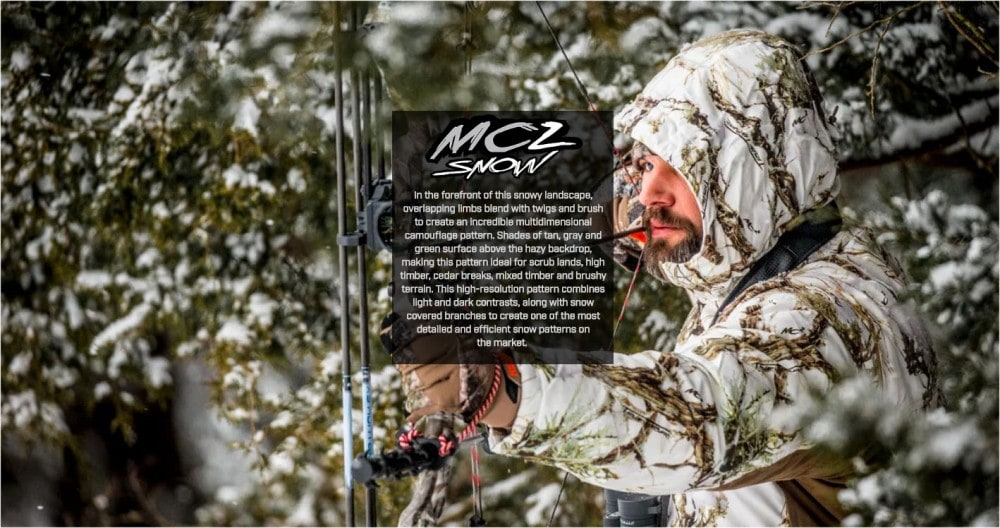 MC2 snow camouflage pattern