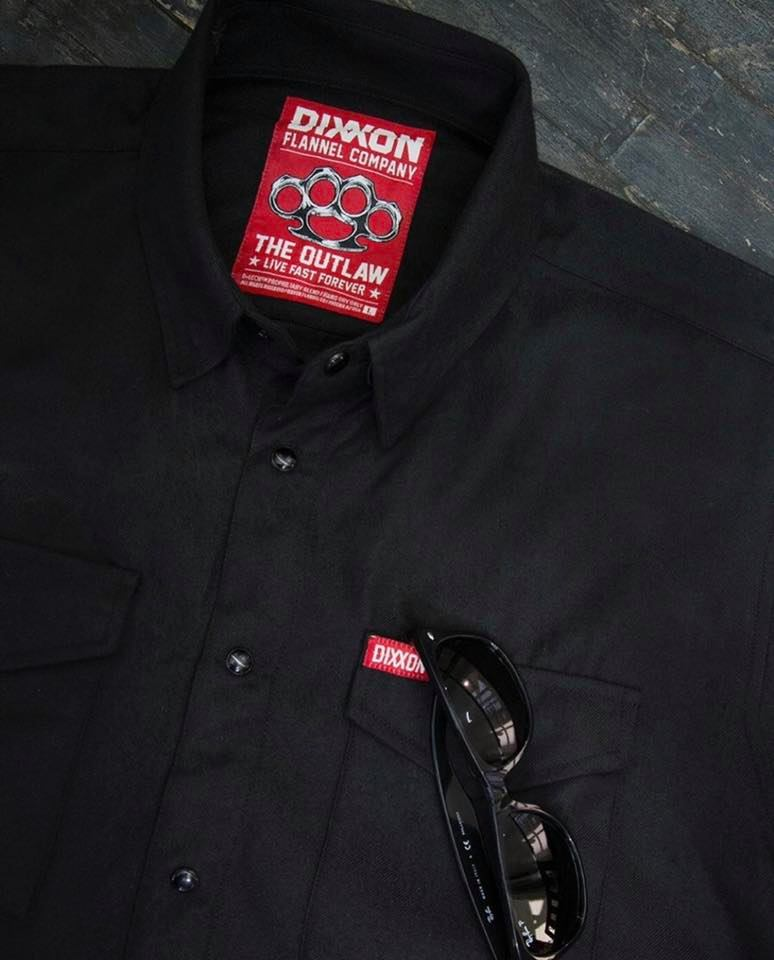 "flannel shirts: Dixxon flannels ""Outlaw"""