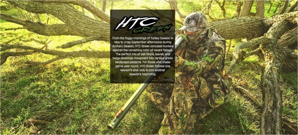 HTC Green for Spring Turkey hunting.