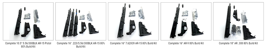 AR Build Kit by 80 Percent Arms