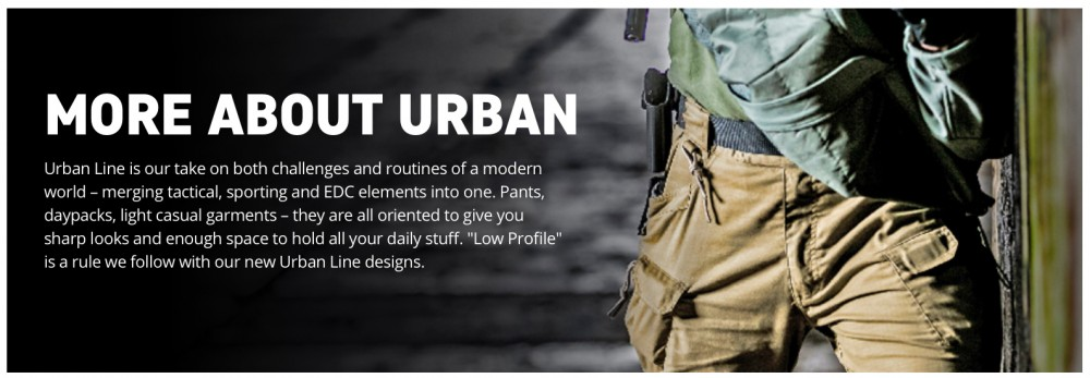 HTX Urban line of tactical clothing